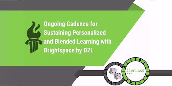 Ongoing Cadence for Sustaining Personalized and Blended Learning with Brightspace... featured image