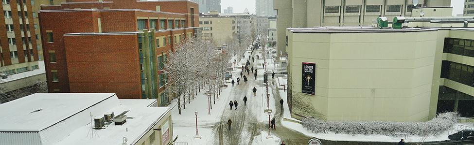 outside of University of Ottawa