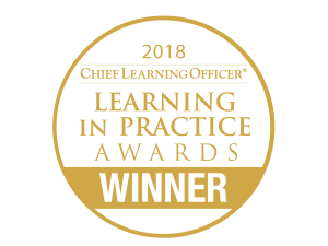 Chief Learning Officer Learning in Practice Awards Badge, Gold