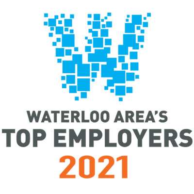Waterloo Area's Top Employers logo