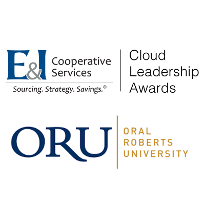 E&I Cloud Leadership Awards logo