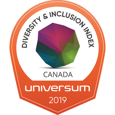 Diversity & Inclusion Award, Top Ten logo